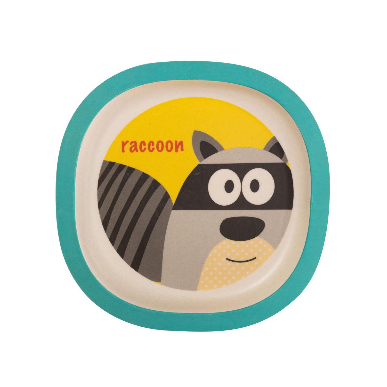 Bambusový talířek, Raccoon