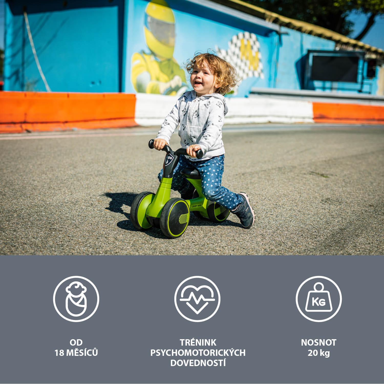 Odrážedlo Easy-Way, Lime green