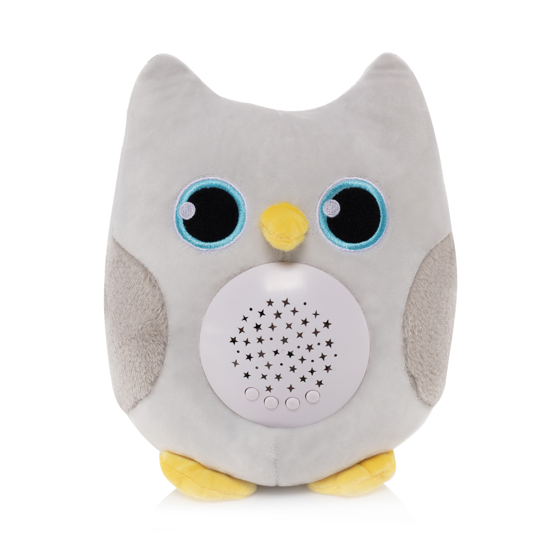 Plyšová hračka Sova s projektorem