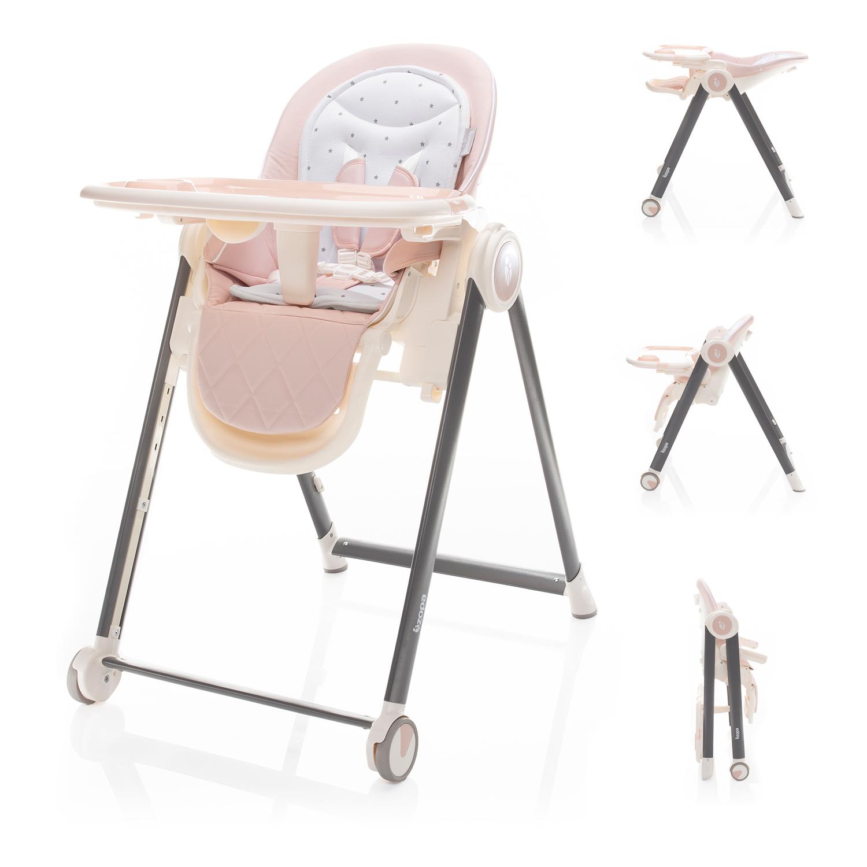 Dětská židlička Space, Blossom Pink