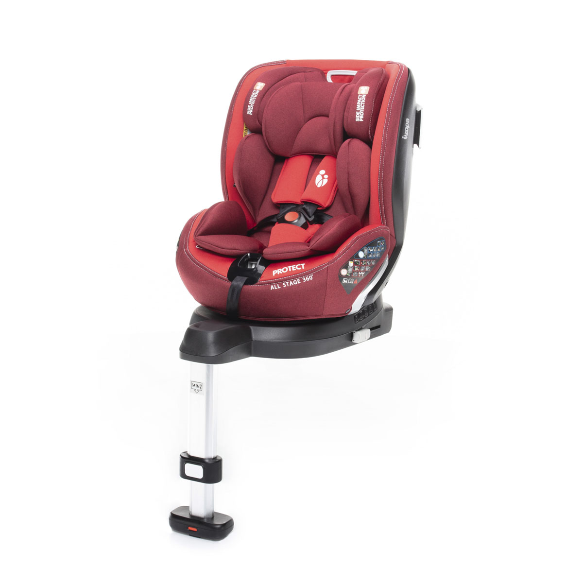 ZOPA Protect I-Size 2021 Red