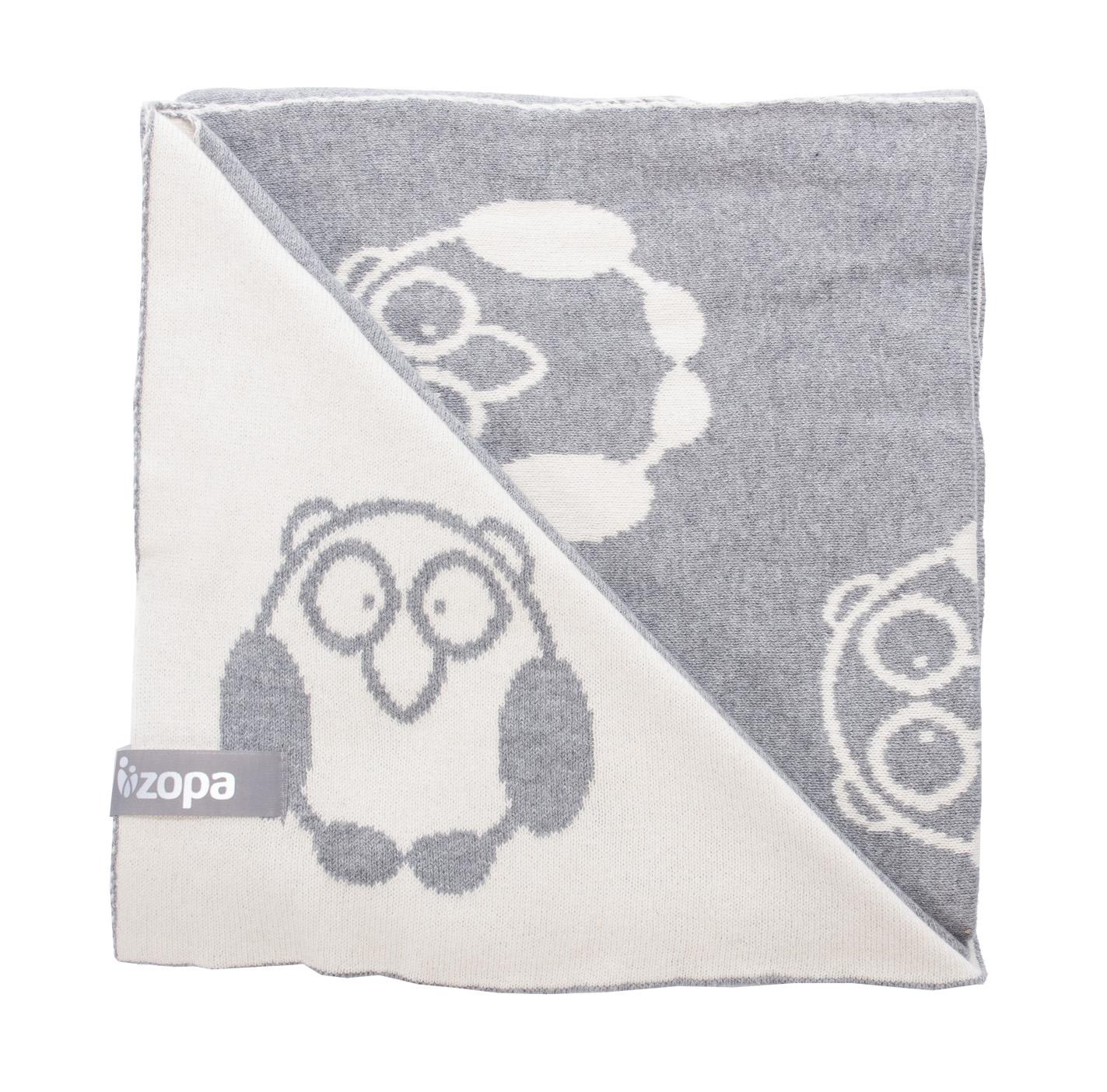 Zopa Dětská deka Little Owl - Grey