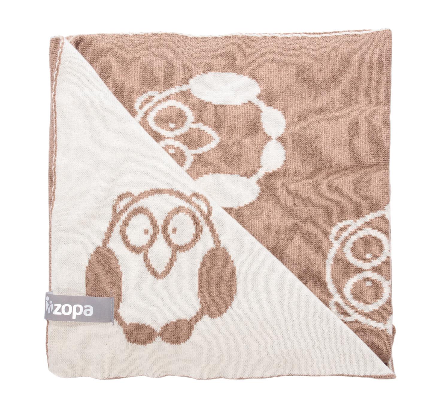 Zopa Dětská deka Little Owl - Savana