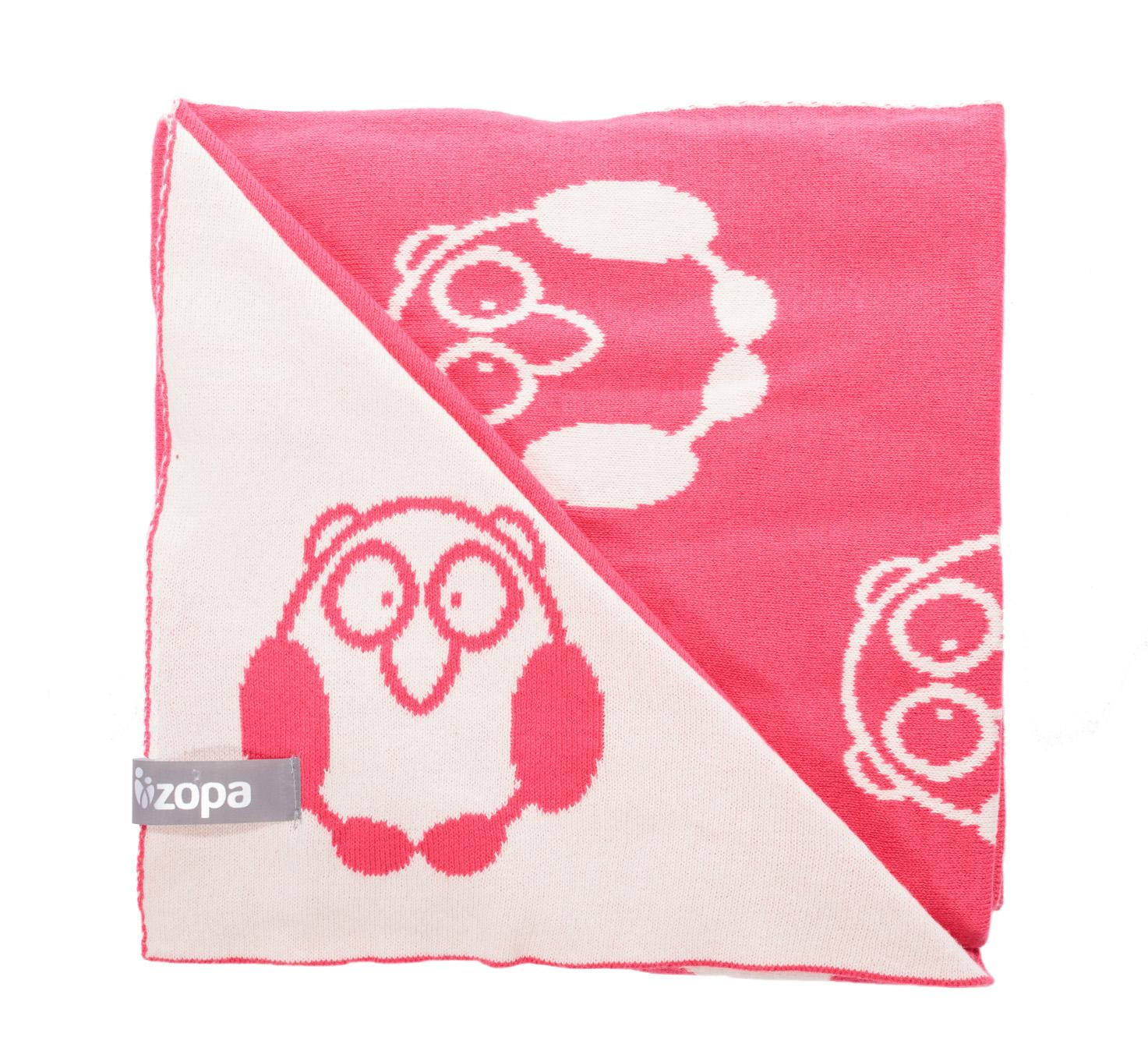 Zopa Dětská deka Little Owl - Redwine