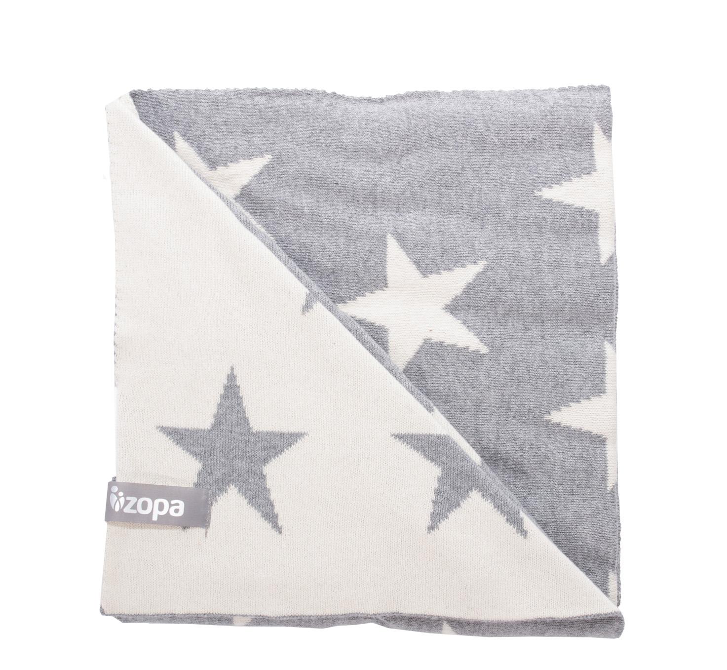 Zopa Dětská deka Stars - Grey