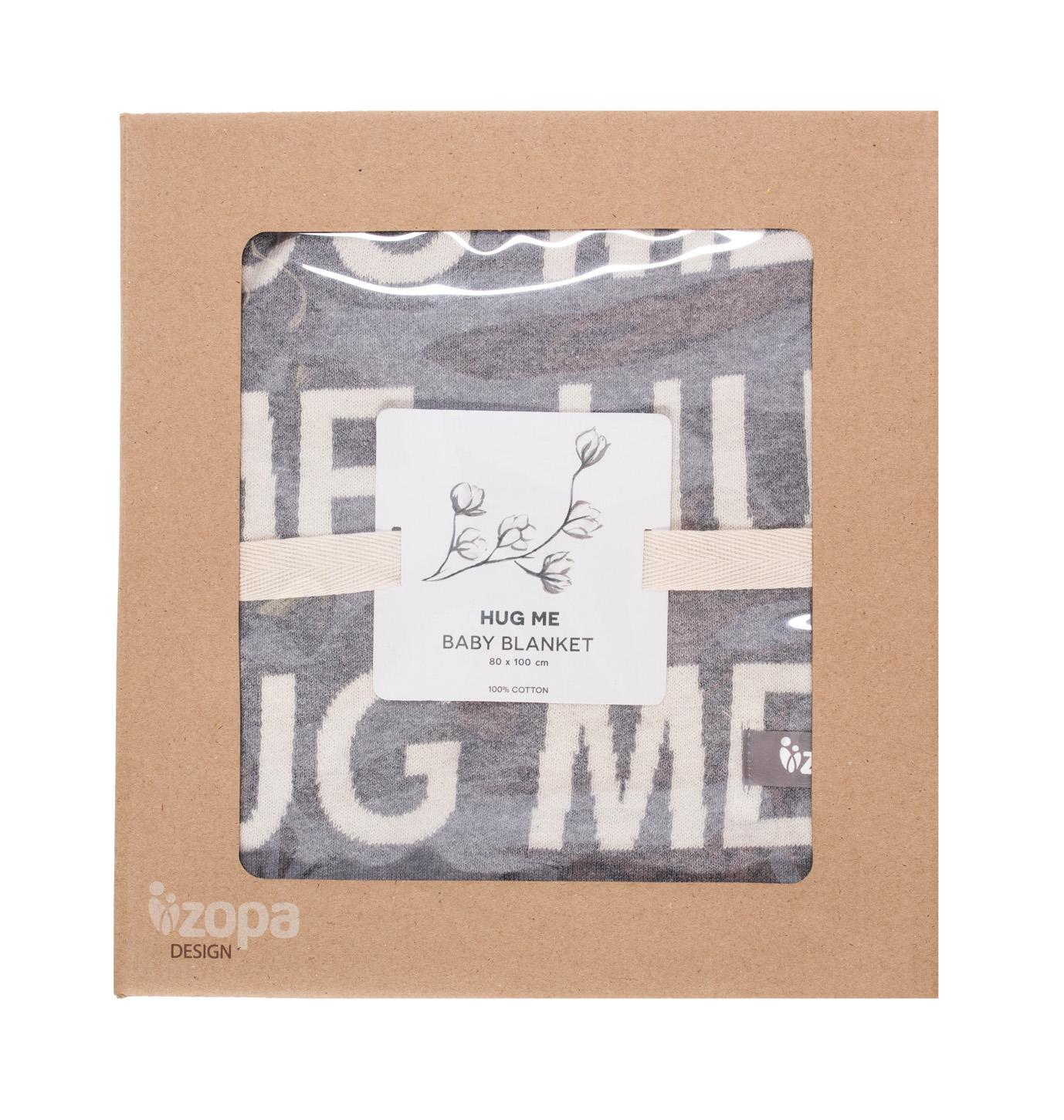 Zopa Dětská deka Hug Me - Grey