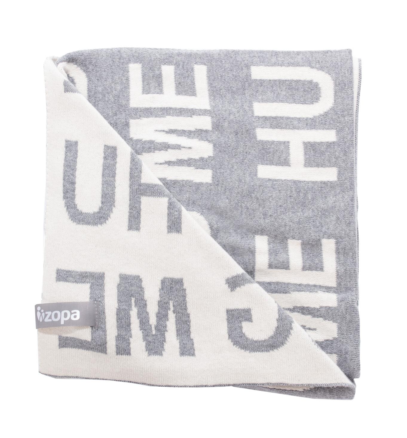 Dětská deka Hug Me, Grey