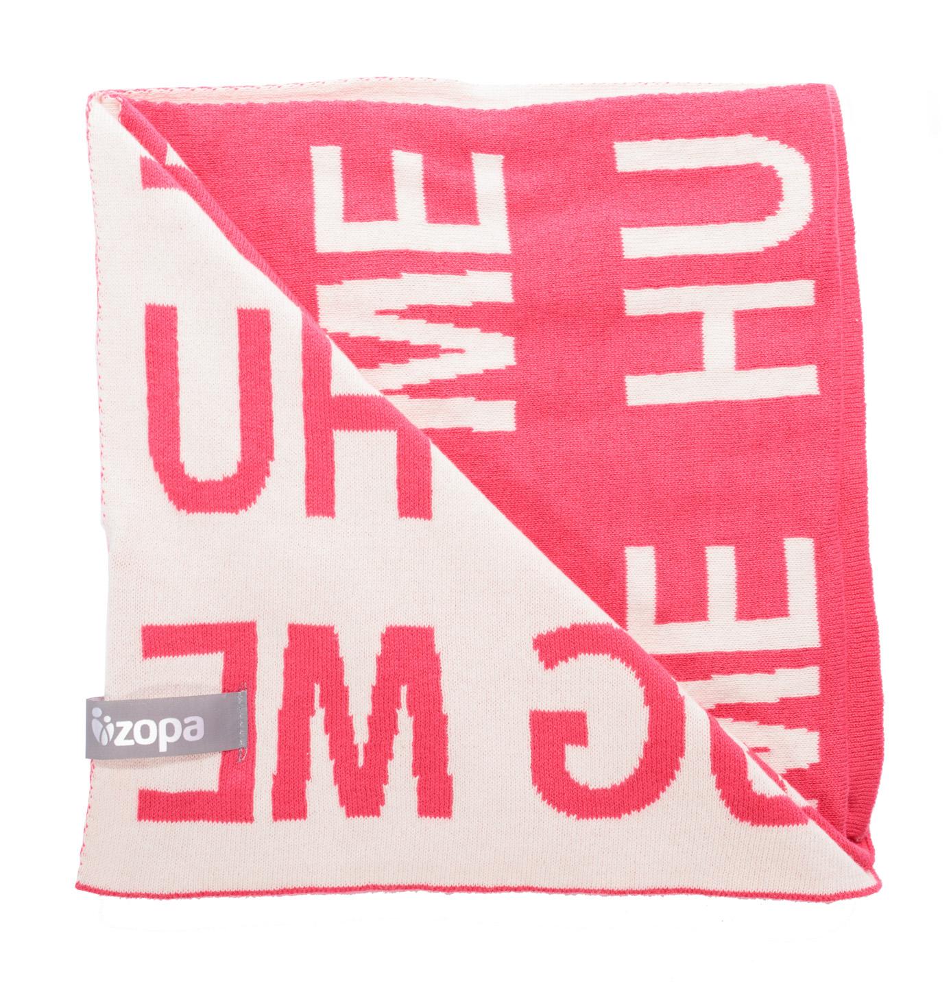 Zopa Dětská deka Hug Me - Redwine
