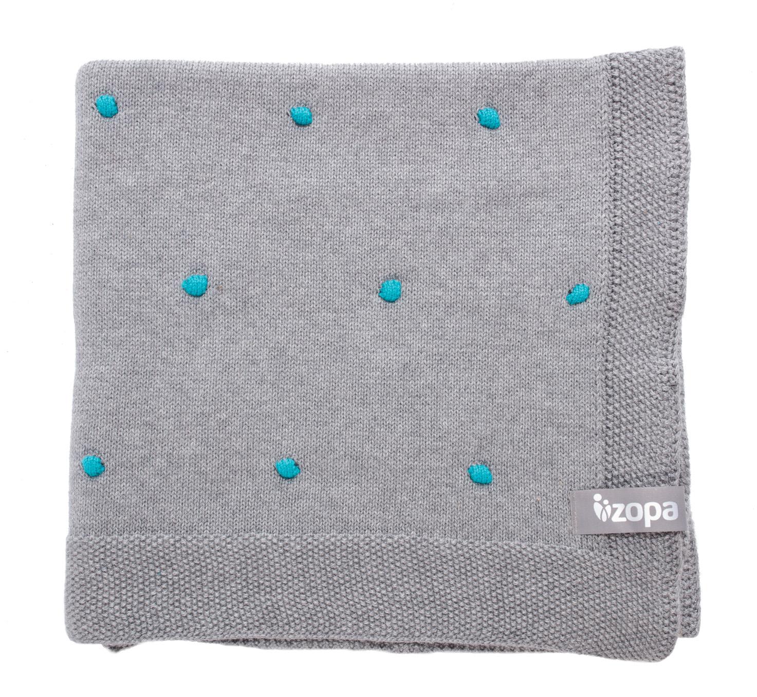 Dětská deka Dots, Mint