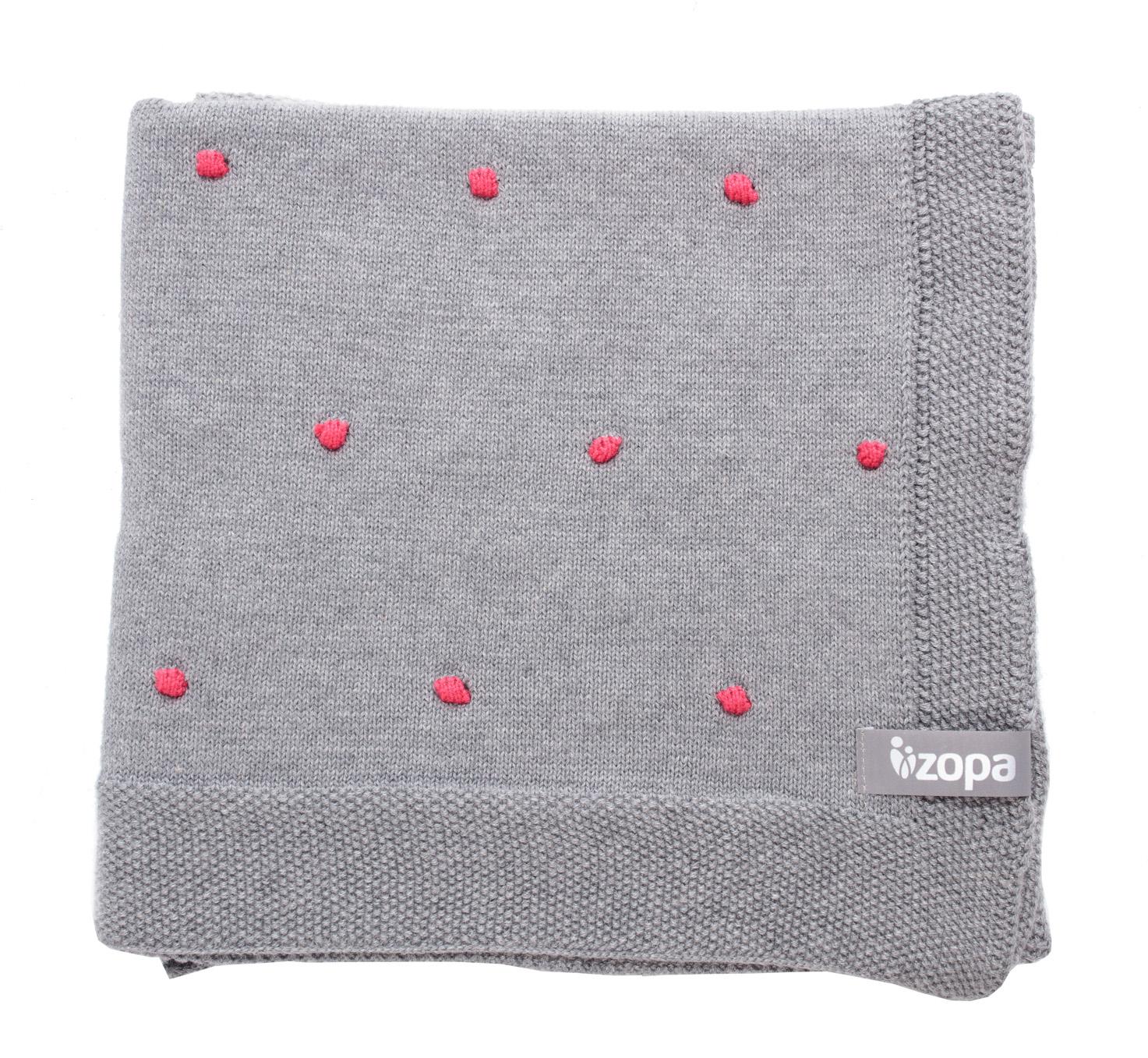 Dětská deka Dots, Redwine