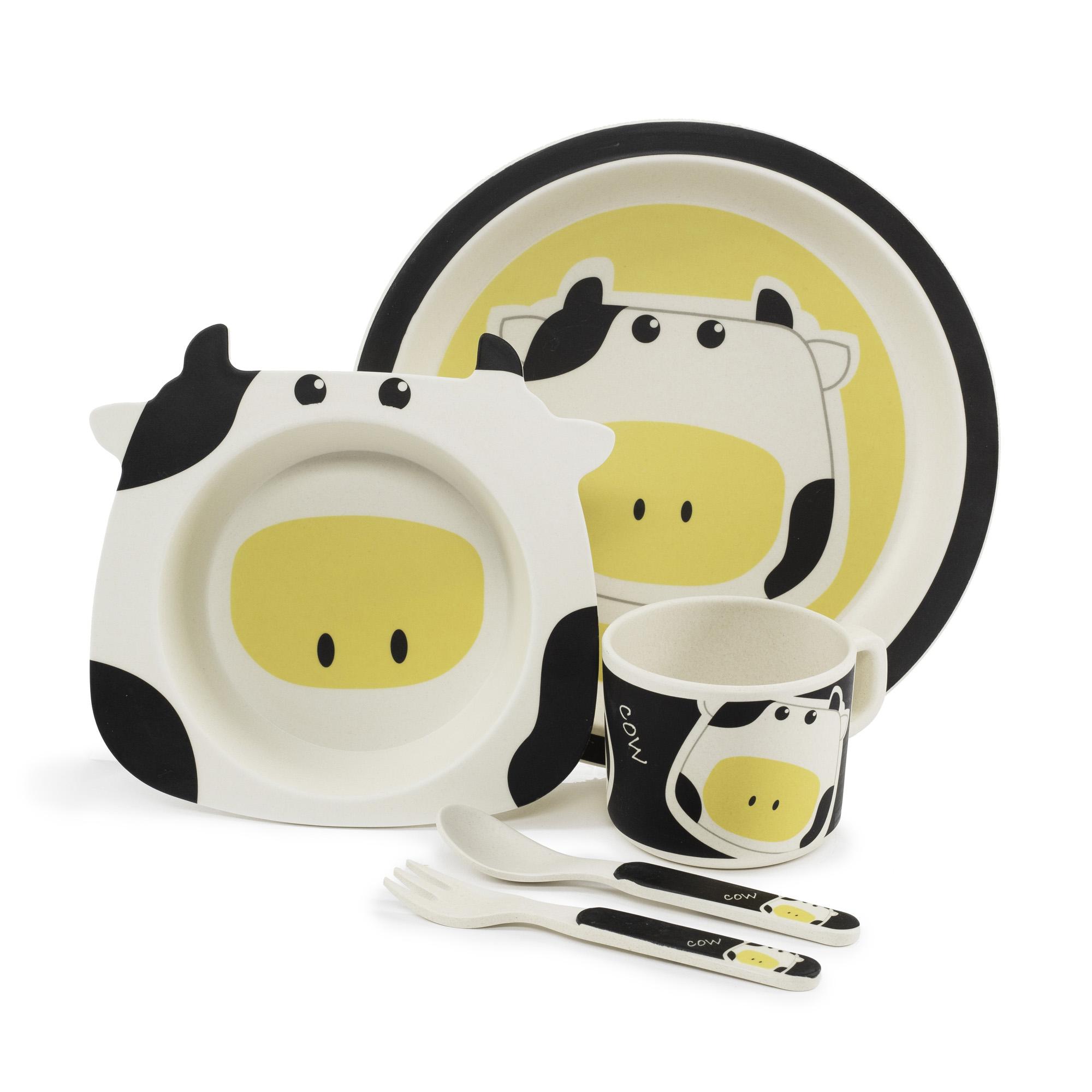 Zopa Bambusová sada nádobí - Cow