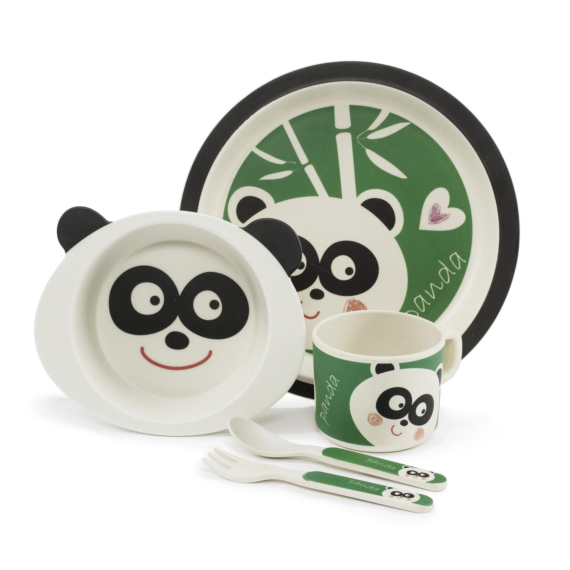 Bambusová sada nádobí, Panda