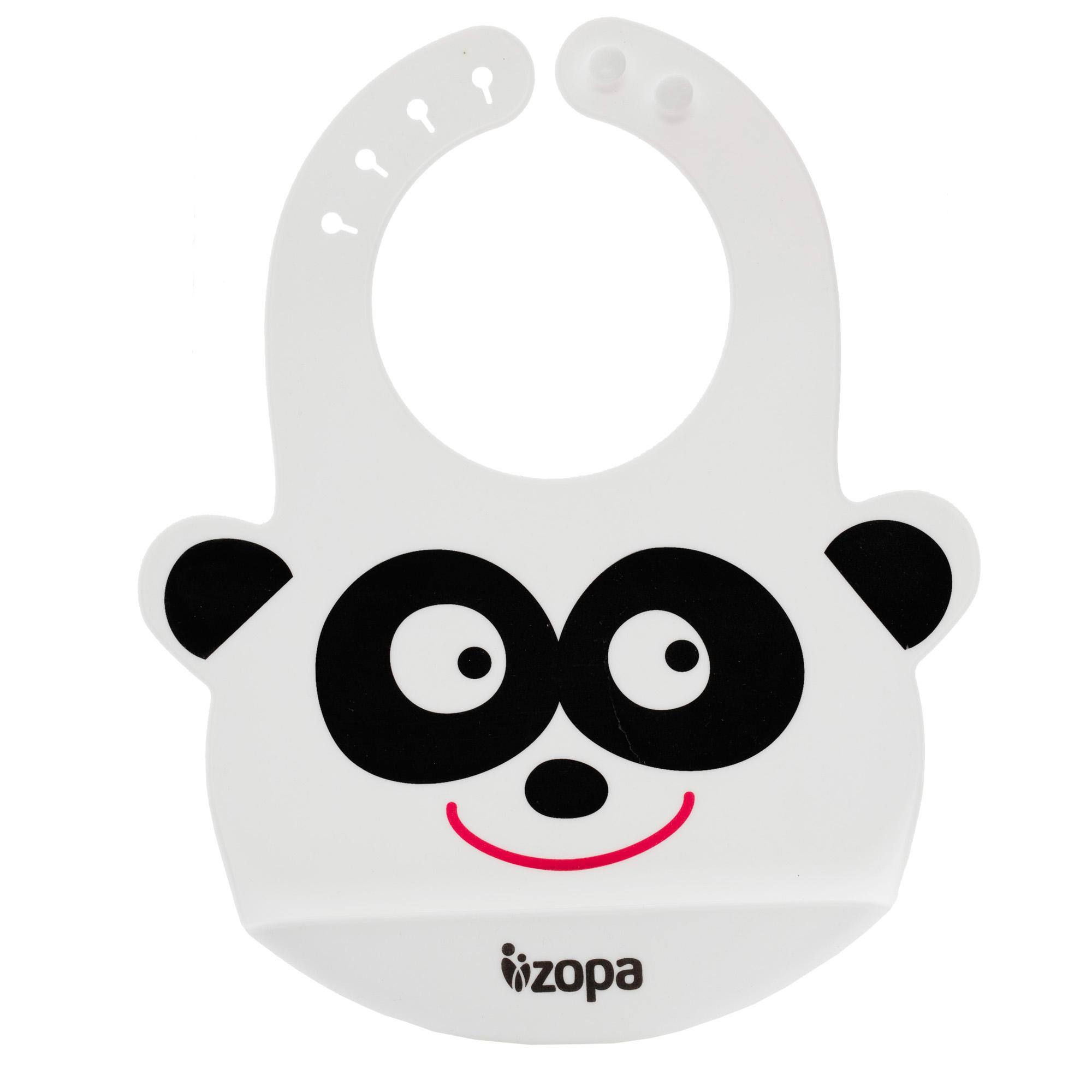 Silikonový bryndák, Panda