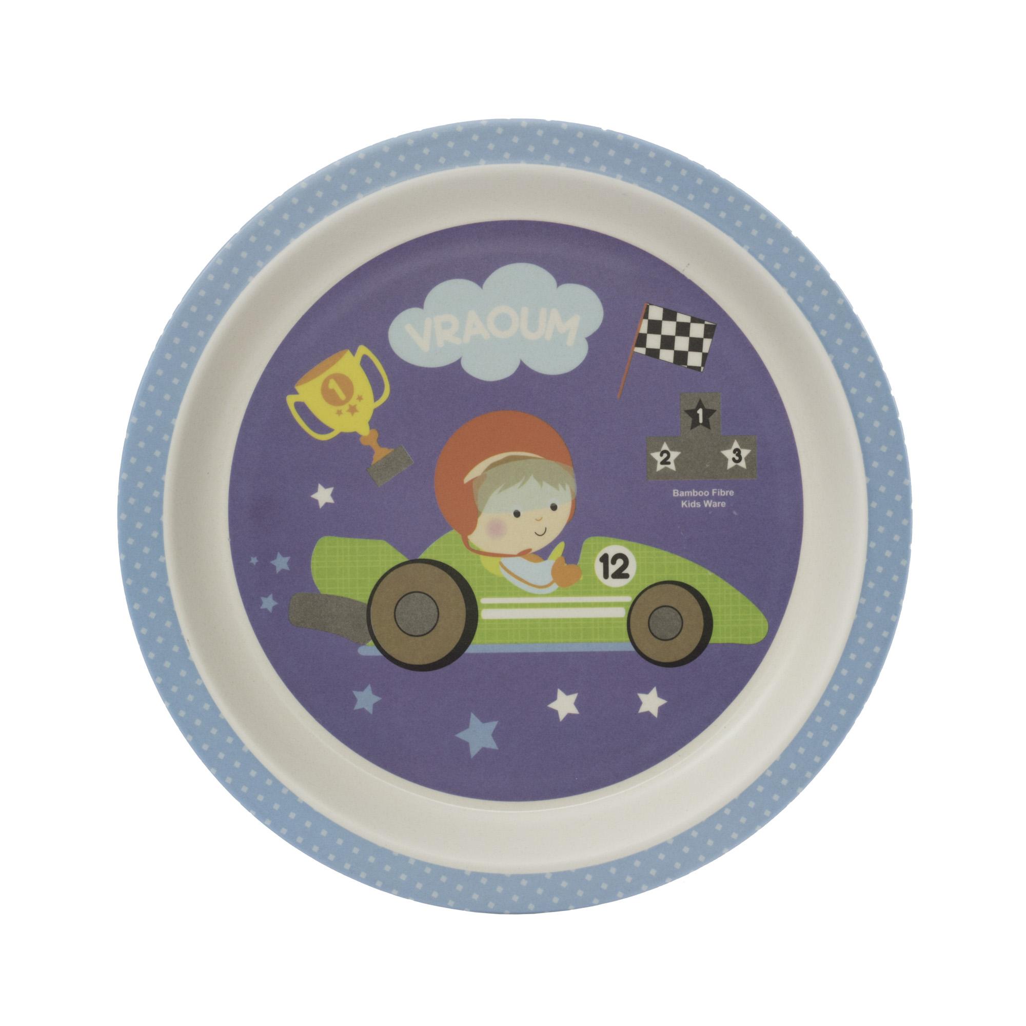 Zopa Bambusový talířek - Little Racer