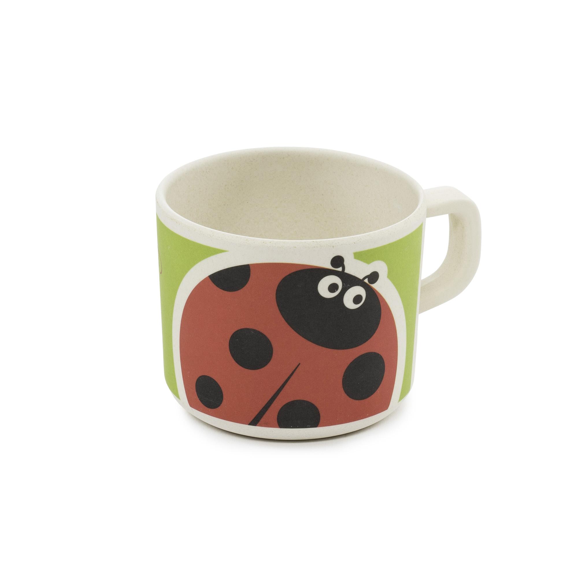 Zopa Bambusový hrníček - Ladybird