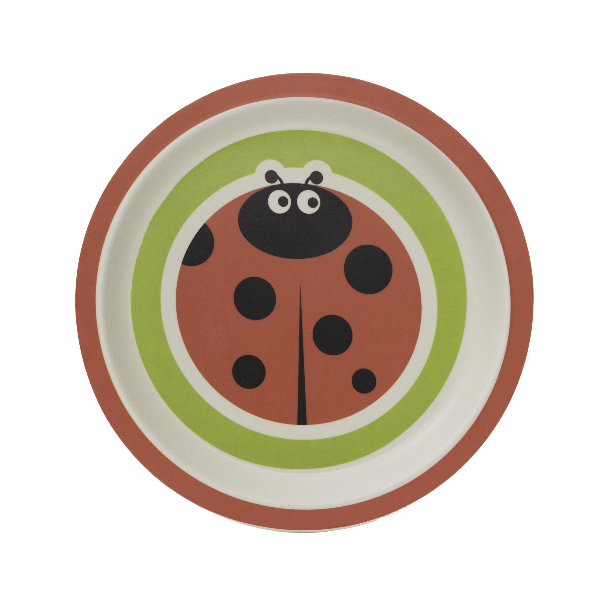 Zopa Bambusový talířek - Ladybird