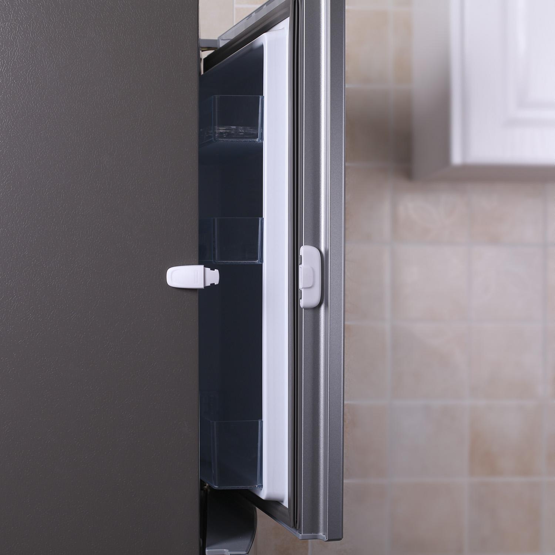 Zámek ledničky, white/grey