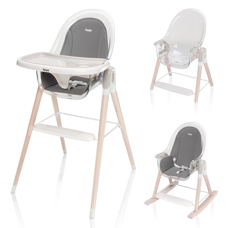 Dětská židlička Elite, Grey