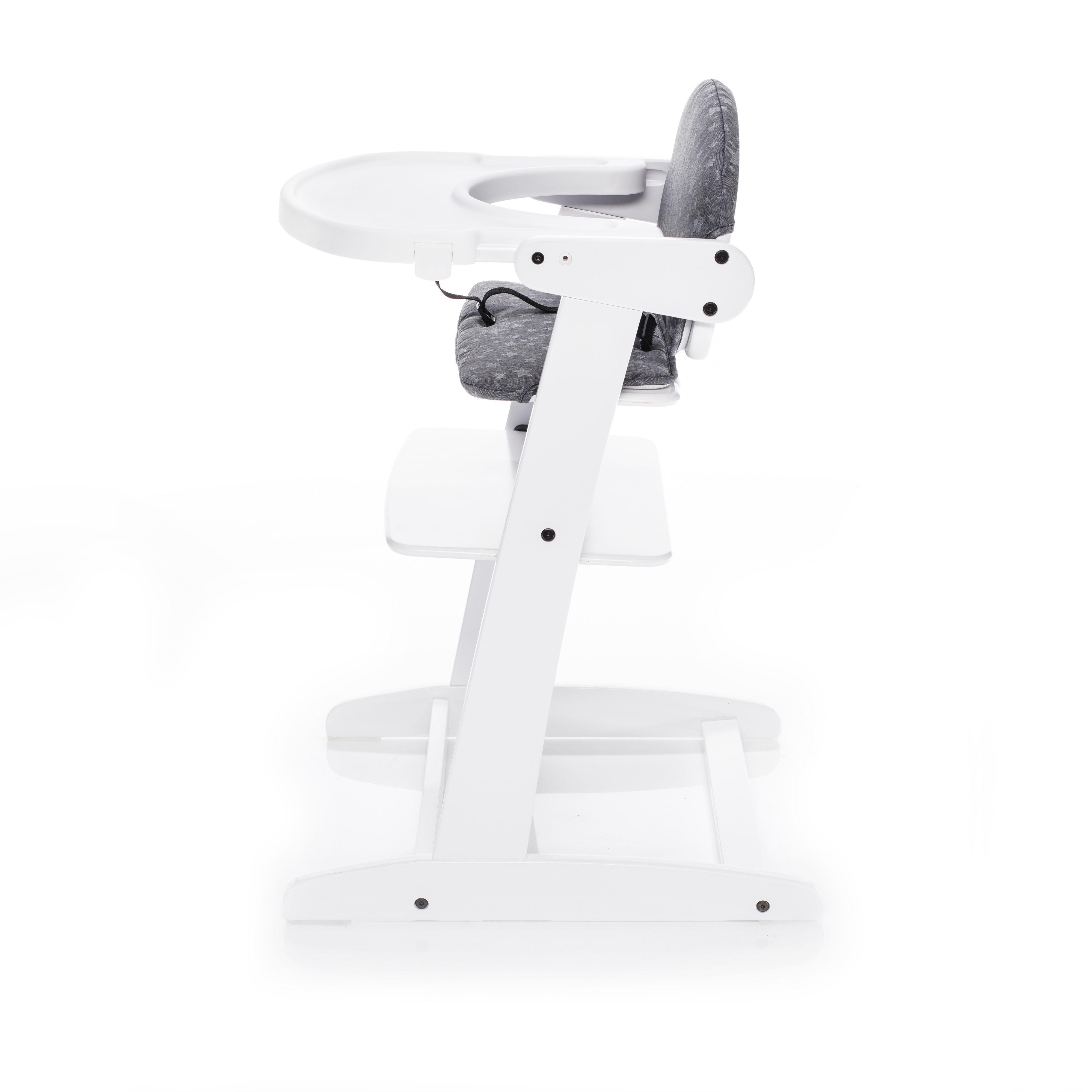 Jídelní židlička Zopa Grow-up - Bílá