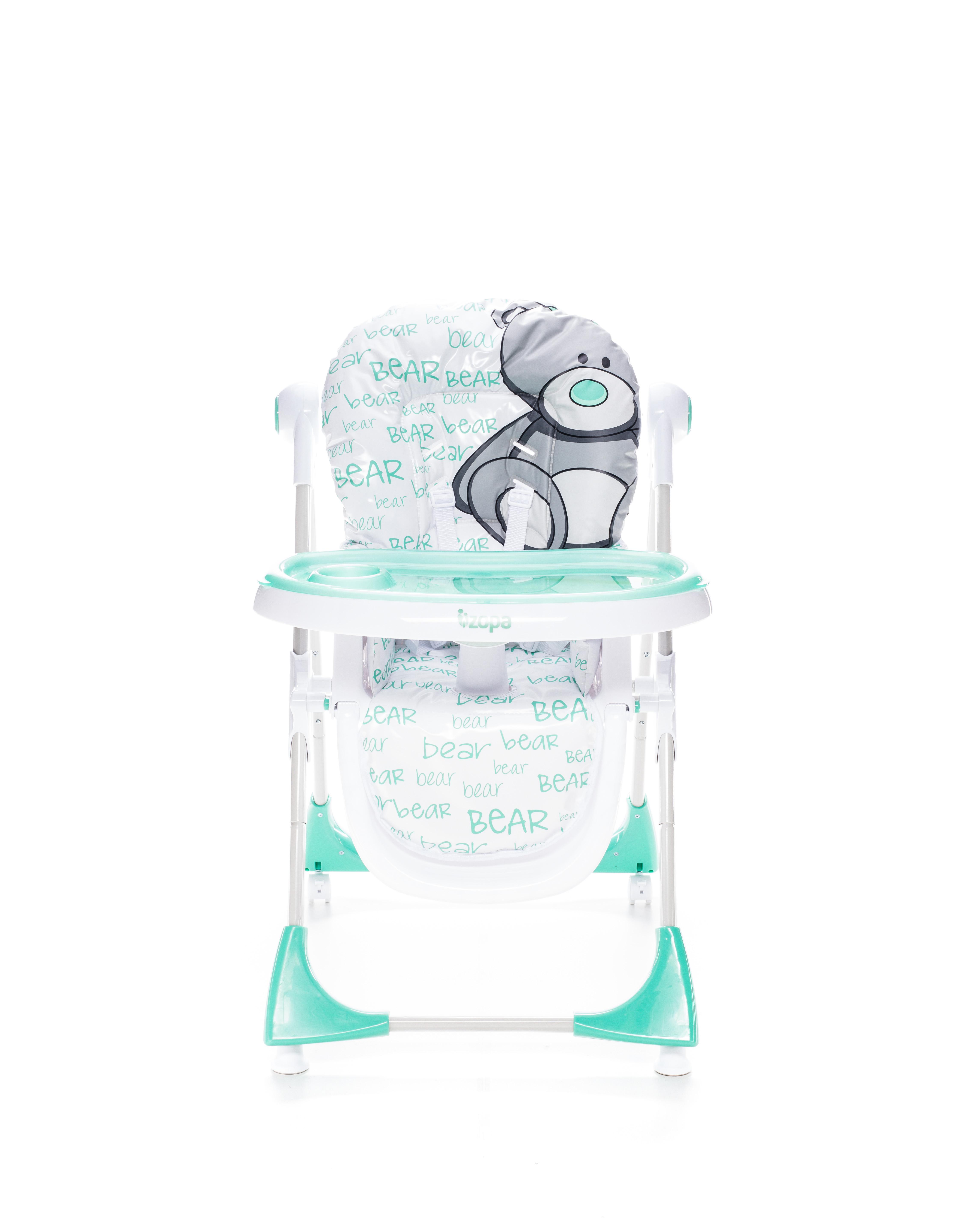 Dětská jídelní židlička Zopa Monti - Menthol Mint