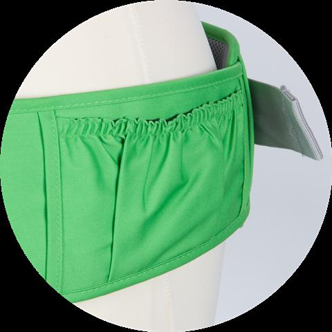 Nuvolino Nosič na dítě Active Hipseat - Green Apple