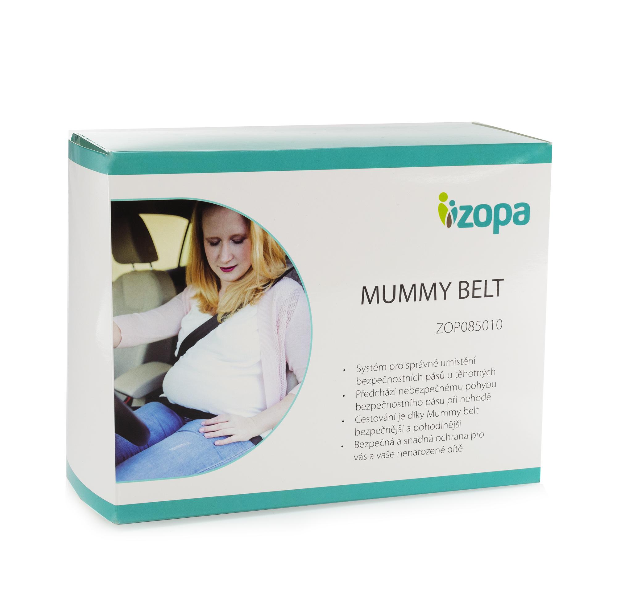 Těhotenský pás do auta Mummy belt, Black