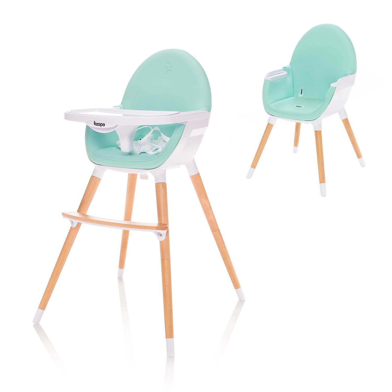 Dětská jídelní židlička Zopa Dolce - Ice Green