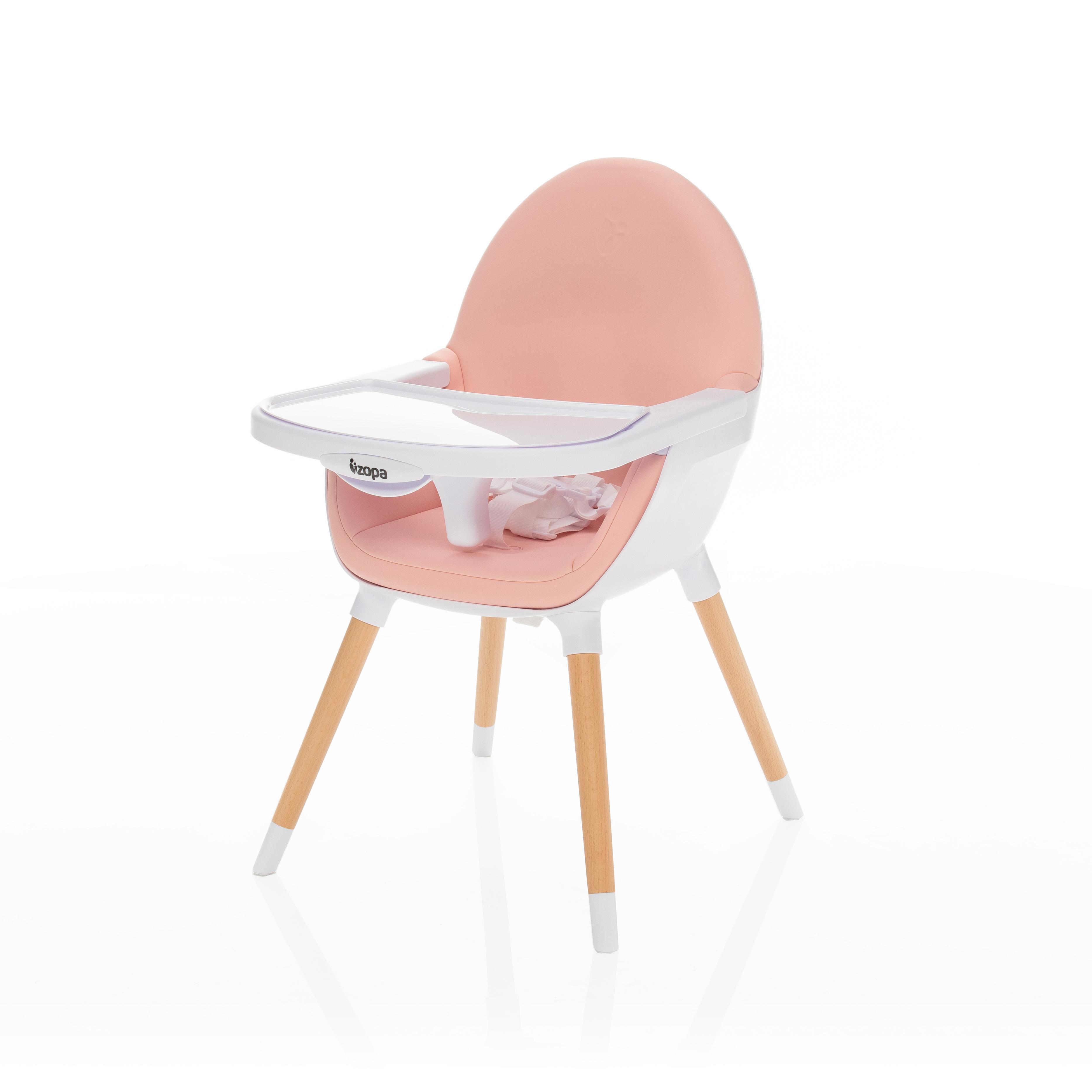 Dětská jídelní židlička Zopa Dolce - Blush Pink
