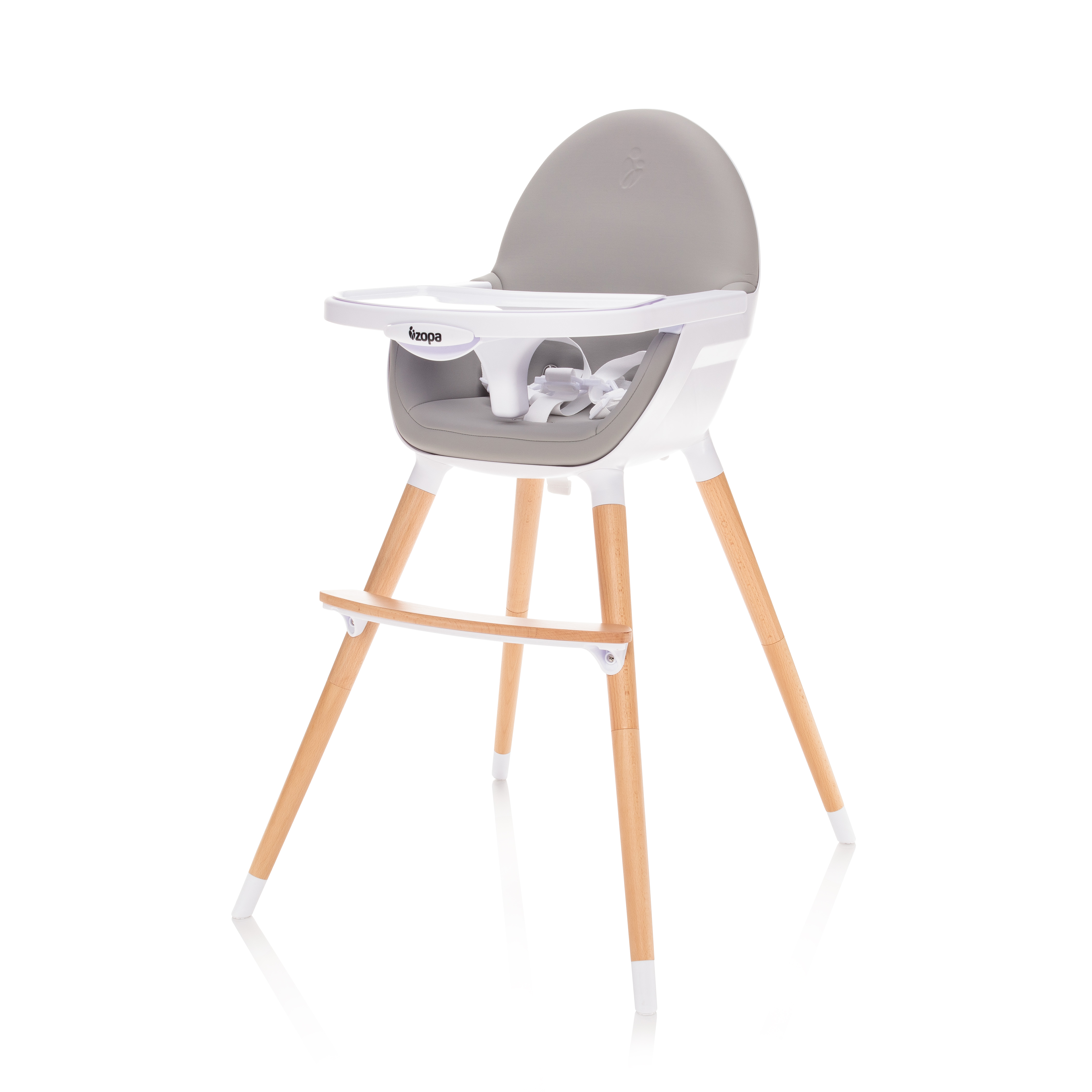 Dětská jídelní židlička Zopa Dolce - Dove Grey