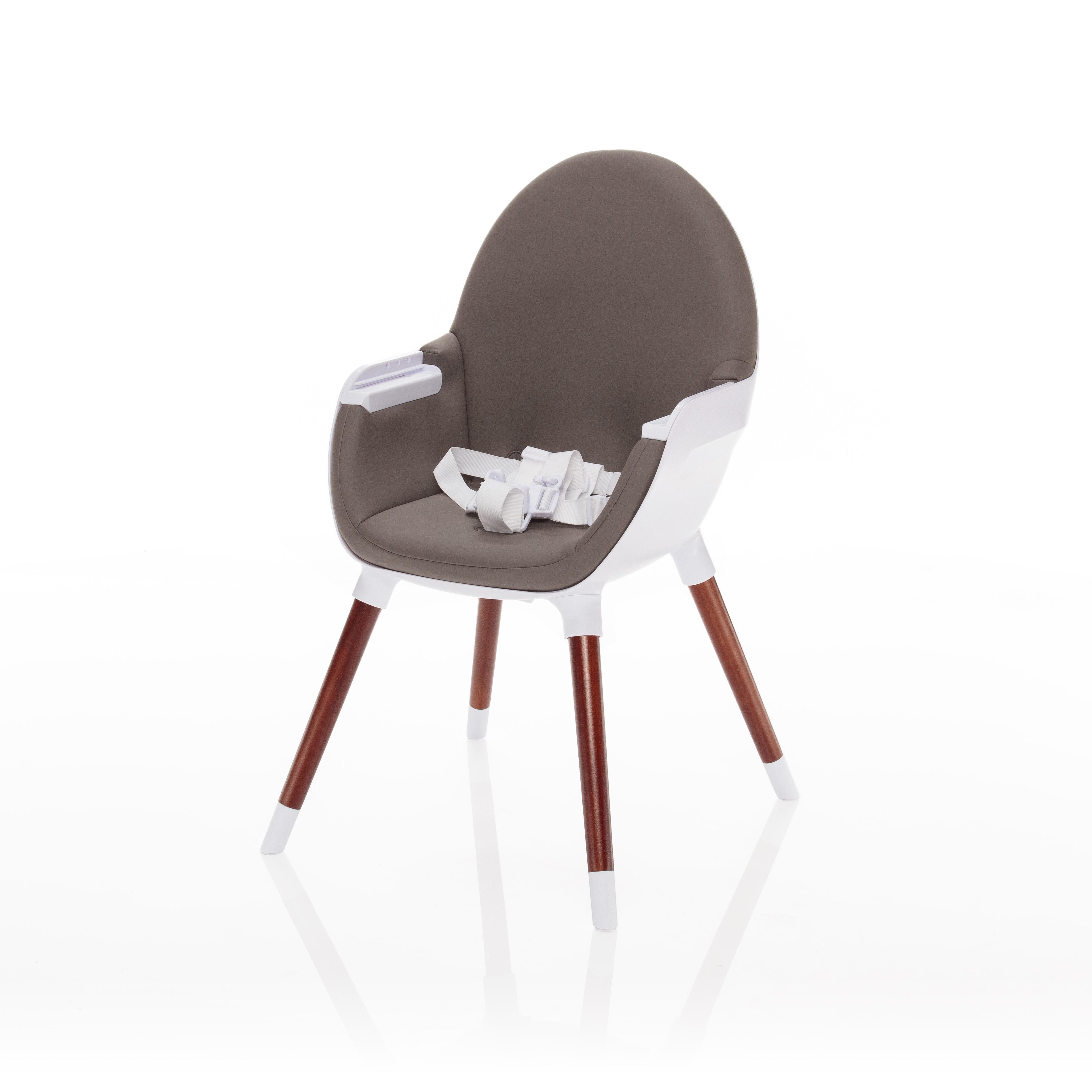 Dětská jídelní židlička Zopa Dolce - Minky Grey