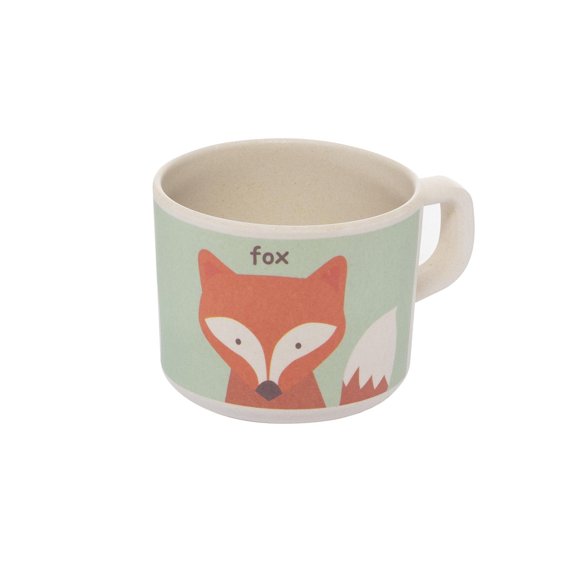Zopa Bambusový hrníček - Fox