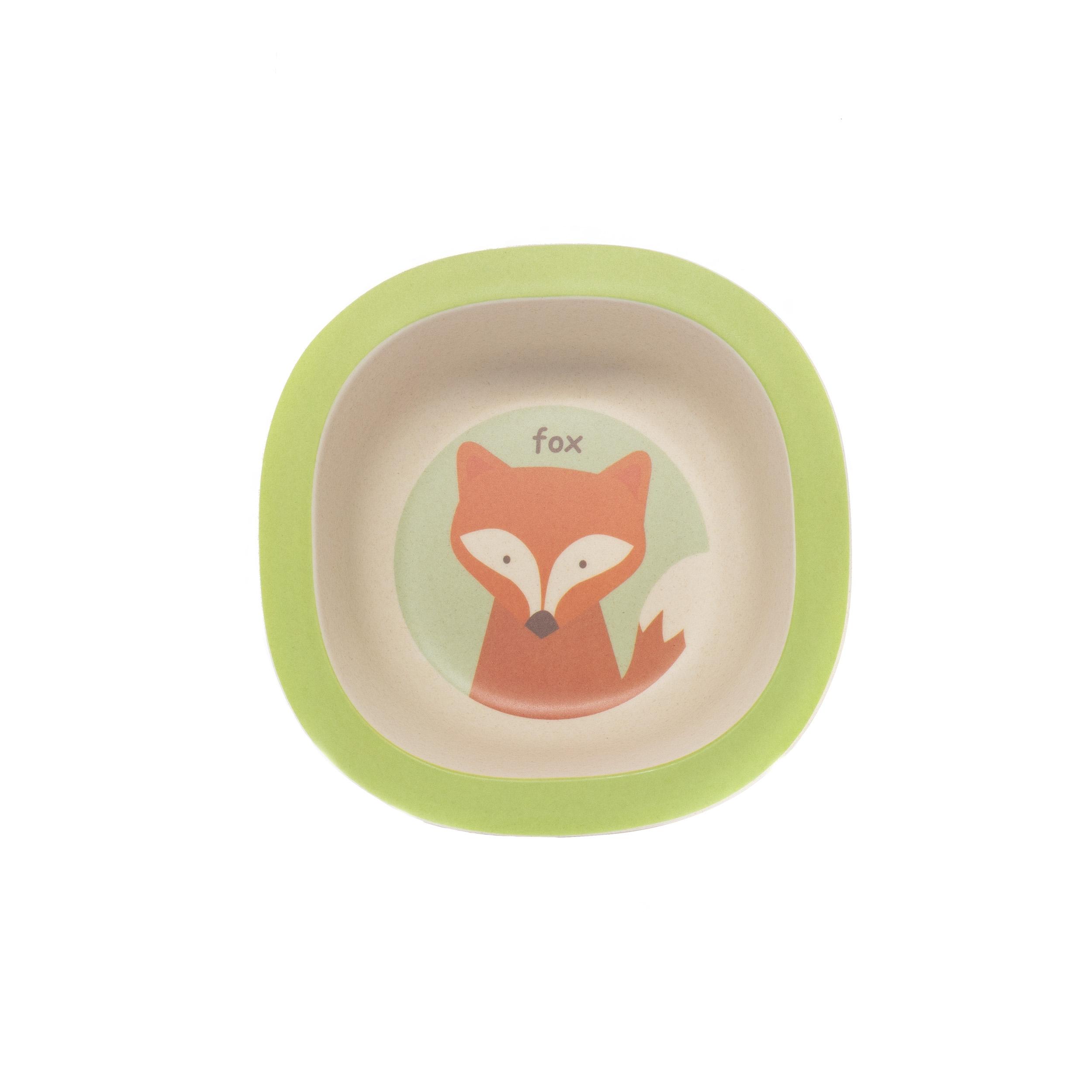 Zopa Bambusová miska - Fox