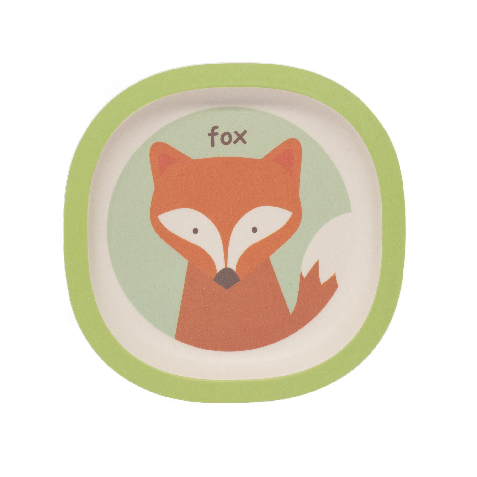 Zopa Bambusový talířek - Fox