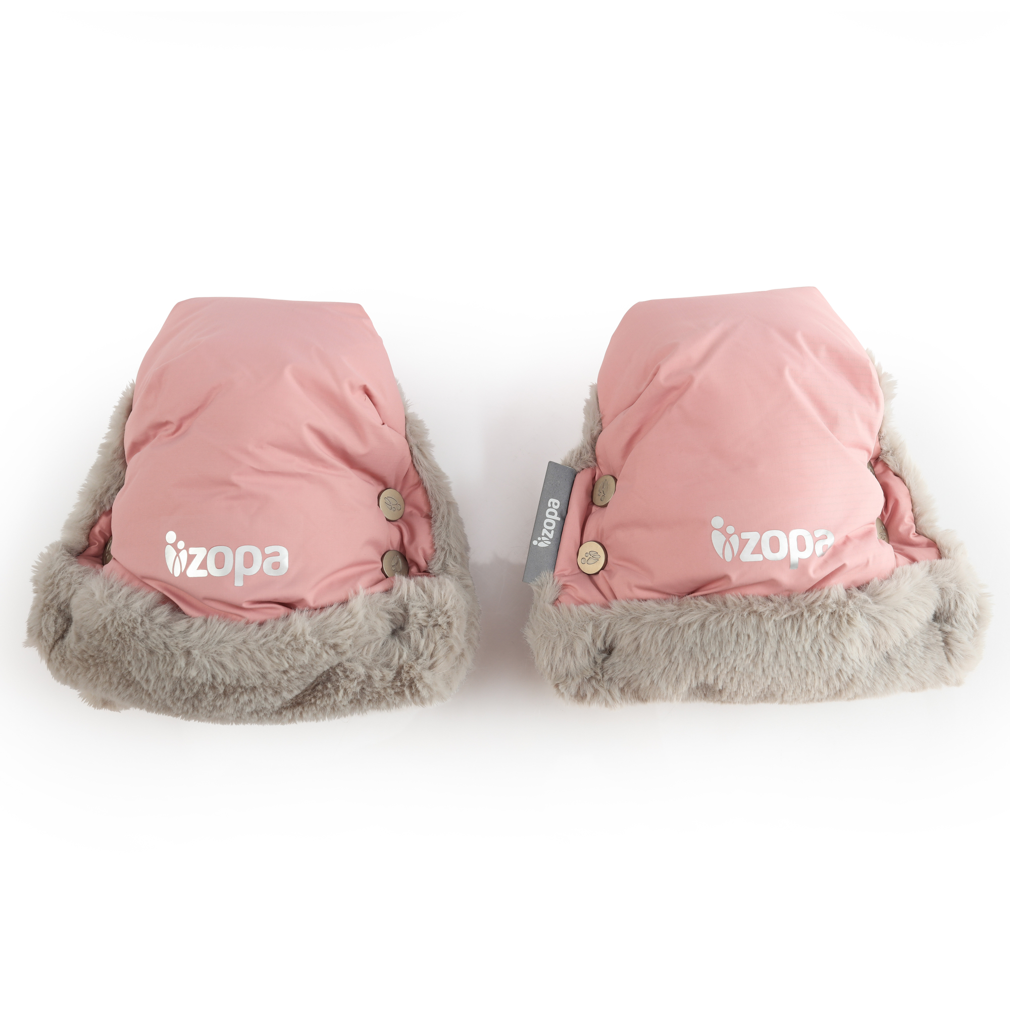 Zimní rukavice Fluffy, Old Pink
