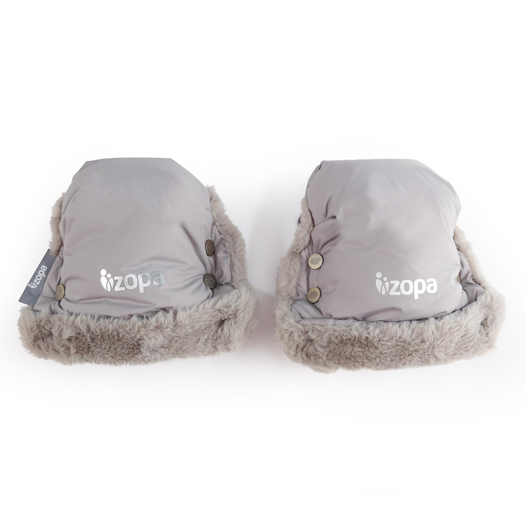 Zimní rukavice Fluffy, Foggy Grey