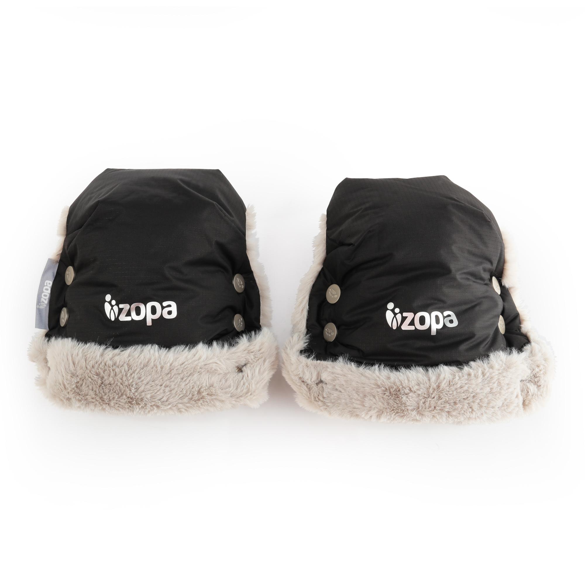 Zimní rukavice Fluffy, Night Black