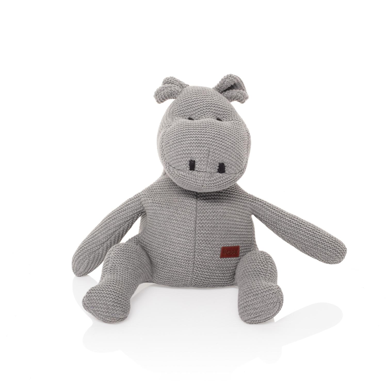 Pletená hračka Hroch, Grey