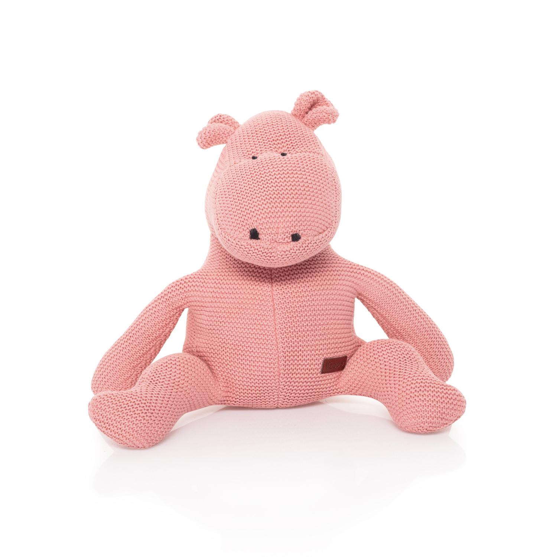 Pletená hračka Hroch, Pink