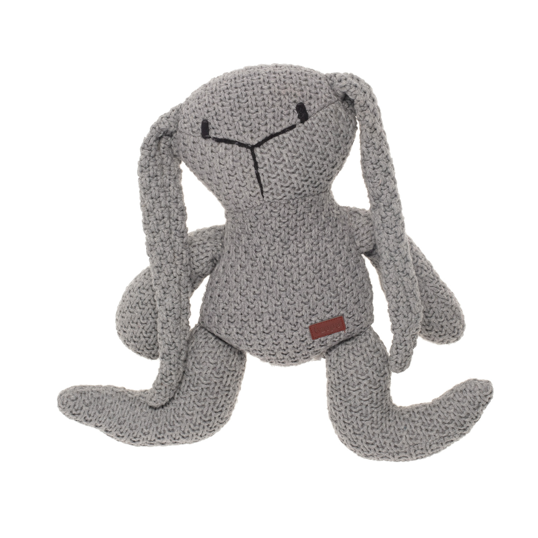 Pletená hračka Zajíc, Grey